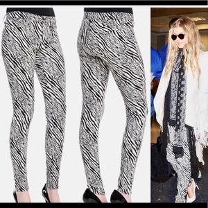 J Brand Limited Edition Zebra Pants